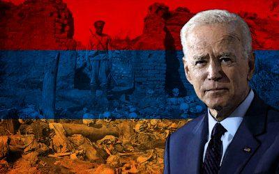 Joe Biden nazywa rzeź Ormian ludobójstwem